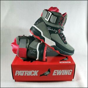 Ewing 33 Hi x Staple Pigeon | Grey/Pink | UK7/US8 | Jeff Staple | Rare