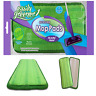 Swiffer WetJet Compatible Microfiber Mop Pads Reusable Refills Wet Jet, 2 Count