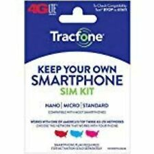 Tracfone Keep Your Own Phone Sim Pack 40 Pack