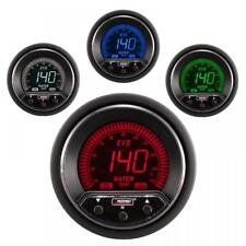 Prosport Evo 52mm LCD Water Temp Deg C Gauge 4 colour with peak and warning