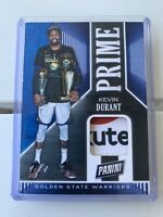 2019 Panini Black Friday Kevin Durant Game-Worn /Used Jersey Ad Patch Card #1/1