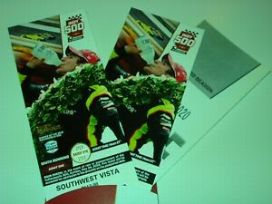 2020 Indy 500 Tickets w/ Sleeve May 24 Date Mint Indianapolis Motor Speedway