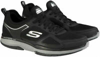 Skechers Men's Burst Slip-On Memory Foam Athletic Shoes Black, Pick A Size