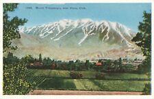 Postcard Mount Timpanogos near Provo Utah
