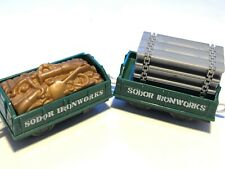 Sodor Ironworks Train Car Set With Accessories Thomas & Friends Trackmaster