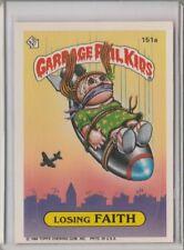 1986 GARBAGE PAIL KIDS #151A ''LOSING FAITH''