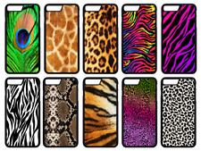Piel Estampado Animal Impreso Teléfono Estuche Cubierta iPhone 4 5 SE 6 7 8 X Comp Plus