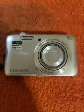 Nikon COOLPIX A300 20.1MP Digital Camera - Silver camera only Untested