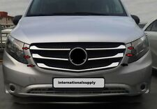 Mercedes Vito W447 Chrome Front grill Trim Cover Set 5 pcs S. Steel