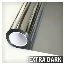 One Way Mirror Window Film Solar Reflective Silver Layer 5 Tint 12 Inch x 24 Ft