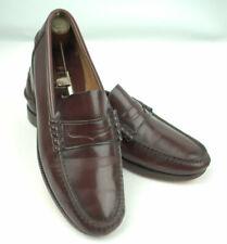 Florsheim mans Penny Loafer Slip on Shoe 9 D Cordovan Color Leather FLS