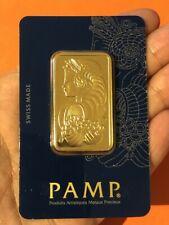 Goldbarren - Gold Barren 1 OZ - 31,10 Gramm Verschweißt im Blister - Zertifikat