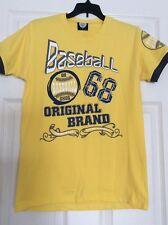 Baseball 68 Yougth Boys Shirt Original Brand Size Medium Color Yellow