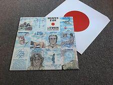 JOHN LENNON - SHAVED FISH - 1975 LP WITH INNER SLEEVE EX - BUY MORE COMBINE POST