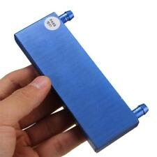 122x41x12mm Aluminium Water Cooling Block Heatsink Block Liquid Cooler For CPU G