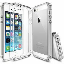 iPhone SE/5S/5 Case, [Ringke Fusion] Crystal PC Back TPU Bumper Drop Protection