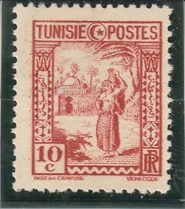 Tunisia 1931. Land and People. 10c. Mint. Hinged.