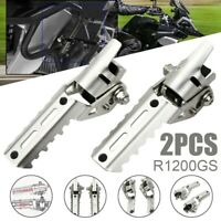 Motorcycle Front Footrest Foot Padels Highway Pegs for BMW R1200GS ADV LC 13-17