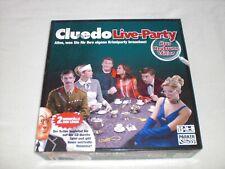 Cluedo Live-Party - Haus Neubrunn Edition mit CD - Parker Hasbro 2007 - Kult !