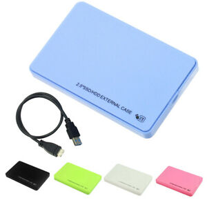 2.5inch HDD External Case USB 3.0 5Gbps Mobile Hard Disk Box for Laptop Trendy
