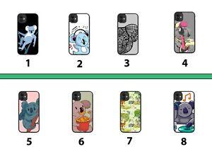 Koala Rubber Phone Case Cover Koalas Animal Bear Bears Cartoon Kids Tribal 8038B