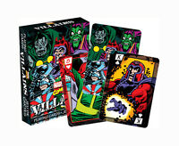 Marvel Comics 'VILLAINS' Playing Cards Licensed Product Brand New