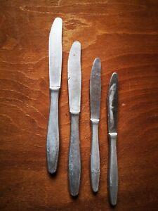 Retro Metal Kitchenware Knifes Set 2x2 Long/Short