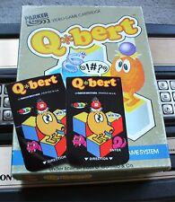NEW Q*BERT ORPHAN OVERLAYS FOR INTELLIVISION GAME FLASHBACK
