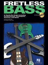 Fretless Bass - A Hands-On Guide Including Fundamentals Techniques 000695696