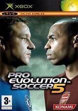 Pro Evolution Soccer 5 (Xbox) - Envío Gratis-Vendedor de Reino Unido