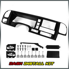 Fit For 95 02 Gmc Truck Suv Radio Stereo Double Din Dash Kit Panel Wire Harness