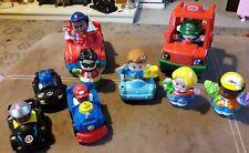 Fisher Price Little People Wheelies, Train, Batman, Cars, Figures.