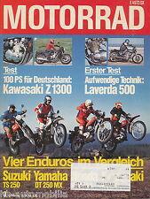 7369M Motorrad 1979 3/79 Z 1300 Kreidler MF2 Laverda 500 Yamaha TZ 350F DT250 MX