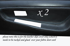BLUE STITCH FITS NISSAN 200 SX S13 88-93  2 X DOOR CARD TRIM COVERS ONLY