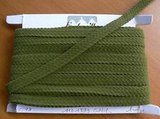 Galon  ruban  velour  tissé du Puy 10 métres col bronze H1cm     LOT 13