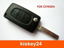 3T Auto Schlüssel Gehäuse für CITROEN C2 C3 C4 C5 BERLINGO JUMPER JUMPY SAXO