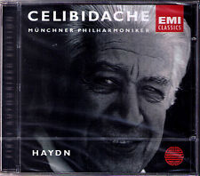 Sergiu CELIBIDACHE: HAYDN Symphony No.103 Drum Roll 104 London CD EMI München