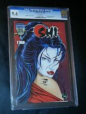 SHI: The Way of the Warrior #3 CrusadeComic CGC 9.6 Story & Art by William Tucci