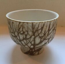 VINTAGE ART POTTERY Bowl ANDERSON Design  STUDIO TREE OF LIFE BIRCH