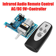 More details for ac/dc 9v remote control volume control board potentiometer pre amp motor alps