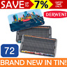 NEW IN TIN 72x DERWENT PROCOLOUR Pencils Colouring Professional Full Range Set