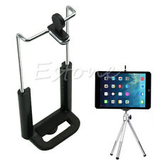 1/4 Screw Clip Bracket Mount Holder To Camera Tripod For 8 Inch Tablet iPad Mini