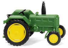 Wiking 088203 Tractor John Deere 2016 Amarillo / VERDE HO 1:87 NUEVO