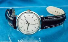 VINTAGE TIMEX MENS MAD MEN ERA ALUMINUM MECHANICAL WATCH