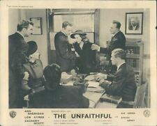 THE UNFAITHFUL ANN SHERIDAN EVE ARDEN LOBBY CARD ORIG