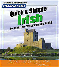 Pimsleur Irish Quick & Simple Course - Level 1 Lessons 1-8 CD  : Learn to Speak and Understand Irish (Gaelic) with Pimsleur Language Programs by Pimsleur (CD-Audio)