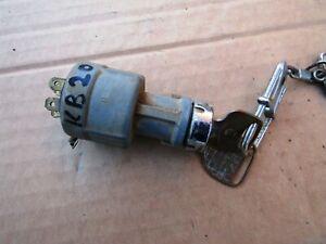 ISUZU KB20 KB25 PICK UP UTE MODEL 1972 80 STEERING WHEEL LOCK WITH KEY USED
