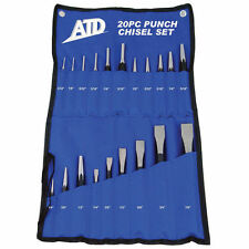 20 Pc. Punch & Chisel Set- Brand New