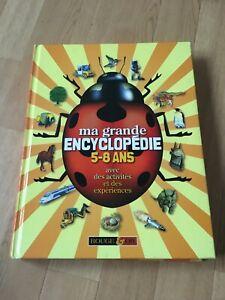 MA GRANDE ENCYCLOPEDIE 5/8 ANS 1999(10 THEMES)