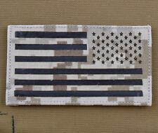 "IR Cordura Laser Cut Patch ""American / USA Flag AOR1 Rv"" with VELCRO® brand hook"